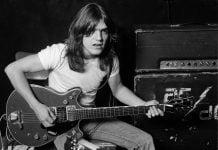 Почина легендарният китарист на AC/DC Малкъм ЙънгА