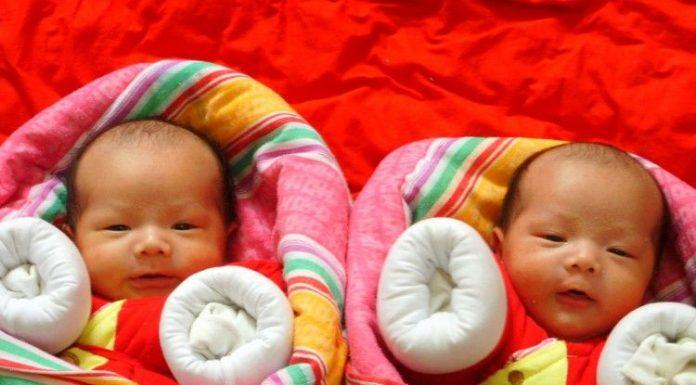 Близнаци Китай