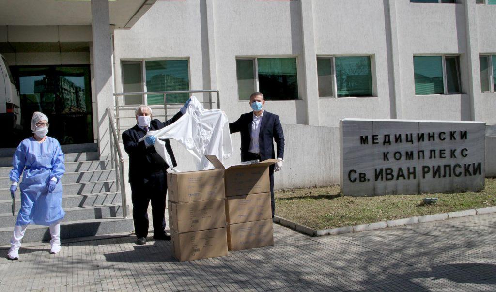 ВП Брандс Интернешънъл дарява животоспасяваща апаратура на МБАЛ Св. Иван Рилски в Пловдив