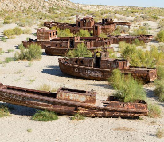 Да изчезнеш за 60 години или тъжната история на Аралско море