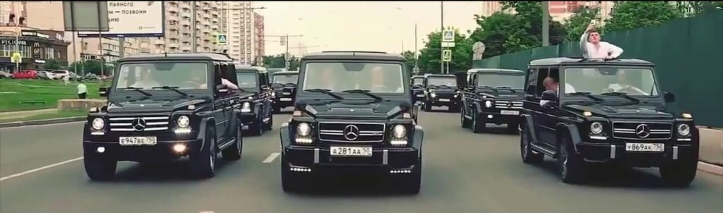 Мафията и им любимите им коли през 90-те