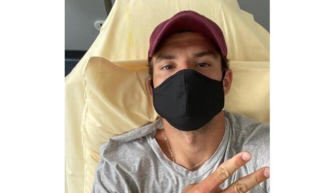 Григор Димитров съобщи, че е заразен с коронавирус