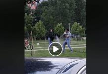 Конан Варварина беше забелязан да върти меч в София