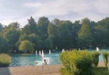 Момче скочи в Пеещите фонтани в Пловдив