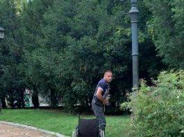 Чудо! Инвалид проходи в парк на София