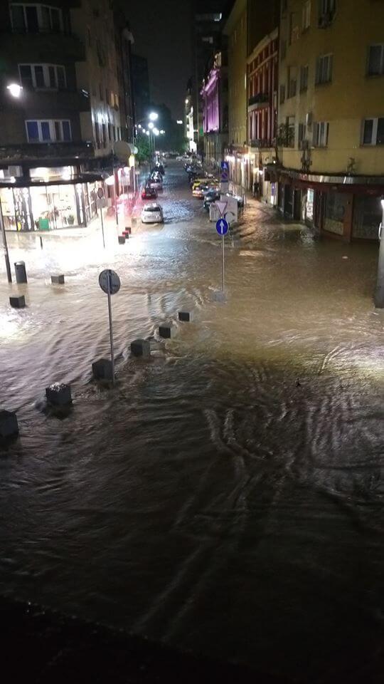 София се възстановява след наводненията