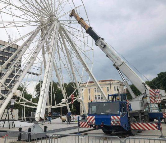 """Площад """"Централен"""" унищожен от варненска фирма"""