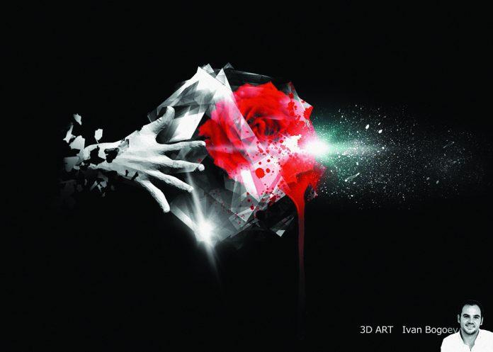 Крадецът на сърца - дигитална живопис