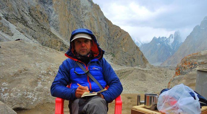 Алпинистът Боян Петров